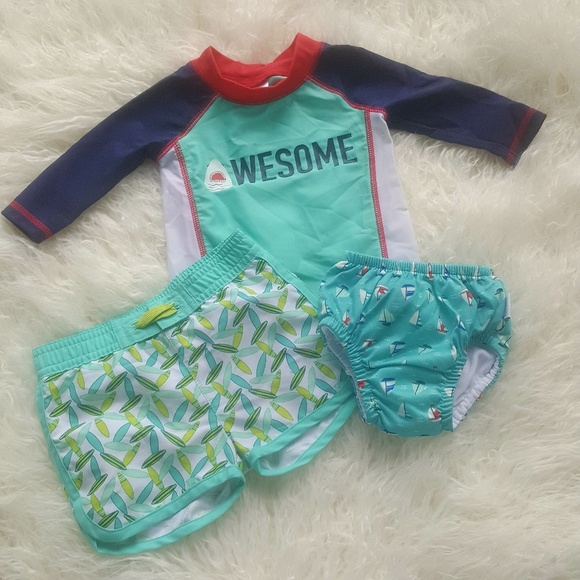 818a87a555 Cat & Jack Swim | Target Infant Baby Boys Trunks 36 M | Poshmark